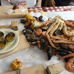 Foto di The Crab Pot Seafood Restaurant