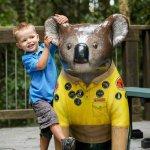 Hello Koalas Sculpture Ranger Riley