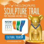 #HelloKoalas is proud to win Gold in this year's NSW Tourism Awards for Cultural Tourism