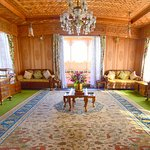 Dining Room of Royal Group of Super Deluxe Houseboats