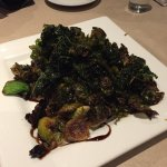 Brussel Sprouts with Pan-Fried Kale