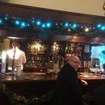 Bar between two large reception rooms.