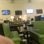 Sorta funky diner decor