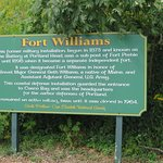 Fort Williams Park sign