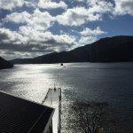 Across Lake Ashi