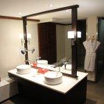 Badezimmer unserer Suite