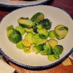 This were supposed to be Roasted Brussels Sprouts.