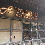 Distinctive exterior look - not just any cafe.