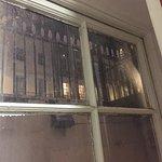 Single-glazed windows despite being at street level.