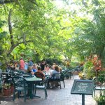This one is from several years ago, but the outside area is a lovely place to eat with live musi