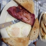 Linda's Ham, Eggs and Pancakes