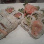 My sushi roll combo