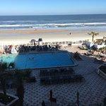 oceanfront poolside balcony