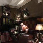 Un des agréables coins des salons du Grand Café