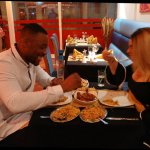 Lovely couple dining in at Royal Tandoori