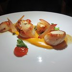 Suculent Seared Scallops