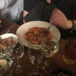 Beef sausage stew with macaroni
