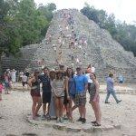 Ruins in Coba