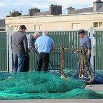 Fishermen Mending Nets, Dingle