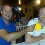 repas entre amis au Paesanu, super soirée et repas extra!