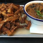 Brisket Chilli with chips