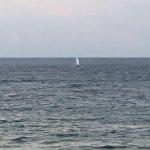 Akumal Dive Shop catamaran under sail