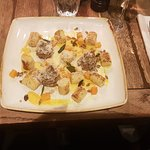 Butternut and muschroom Gnocci, delicious!