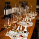 VIP wine tasting with food pairings - 5 wines including the Blanc de Noirs Méthode Traditionelle