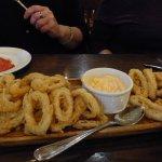 calamari- excellent!