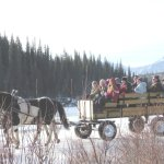 Wagon Rides during the winter months.