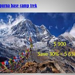 Save 30% in Annapurna base camp trek with Nepal Trekking Routes