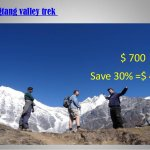 Langtang valley trek with Nepal Trekking Routes