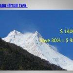 Adventure trekking through the Epic centre of Earthquake 2015 Manaslu circuit