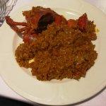Delicioso arroz con bogavante.