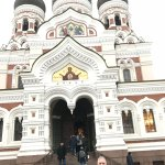 front of Nevsky Cathedral