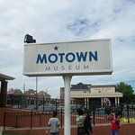 Sign In Front of The Motown Museum