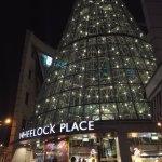 Shoping center nearby metroline