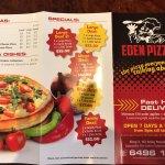Bild från Eden Pizza