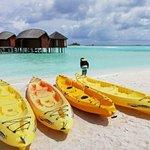 Getting ready to kayak to Gulhifushi Island.