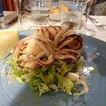 Calamaro arrosto