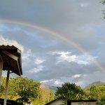 Rainbow near the Fern resort in Mae Hong Song