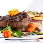 FILET OF BEEF WITH RED PEPPER BUTTER
