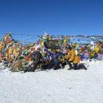 Top of the Annapurna pass