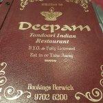 deepam indian restaurant