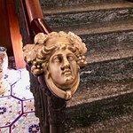 La Medusa: detail on staircase