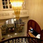 La Medusa: lobby and staircase