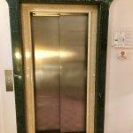 La Medusa: elevator, detail