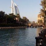 экскурсия в Дубай. вид на Аль Бурдж Араб.