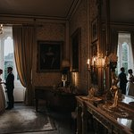 The gold room at Cabra Castle