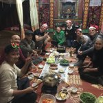 Christmas Eve at our homestay